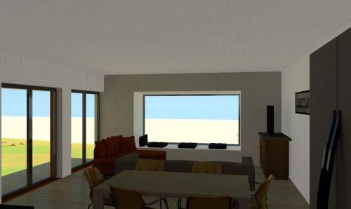 vista interior sala