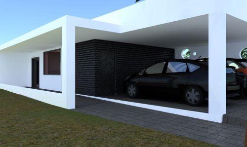 vista garagem+entrada